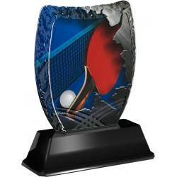 Tischtennis Pokal - Acryltrophäe ACE
