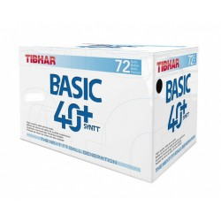 Tibhar Plastik Trainingsball - Basic SYNTT