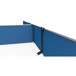 Stapelbare Umrandungen - 12-er Set 2,0 m