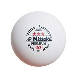 Nittaku Premium 40+ - 3-Sterne Plastikball